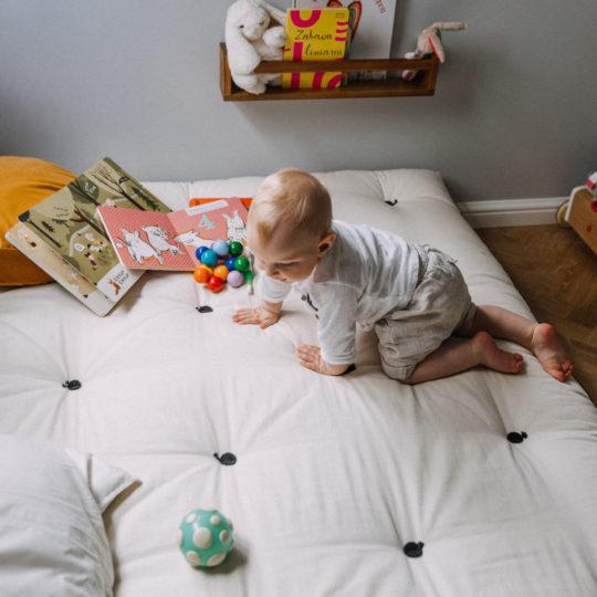 materace dla dzieci montessori