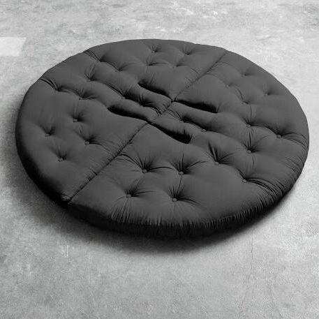 półokrągły materac