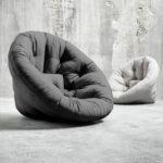 oryginalny fotel futon