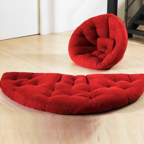 fotel kokon rozkładany