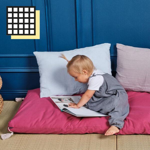 futony dla dzieci montessori