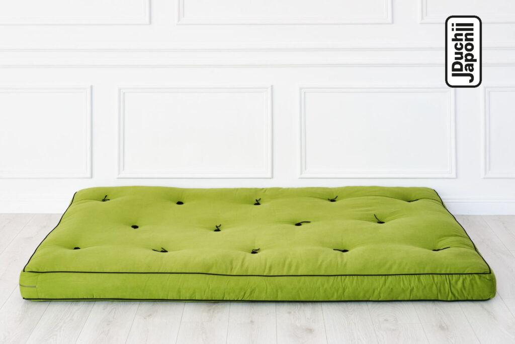 limonkowy futon japoński
