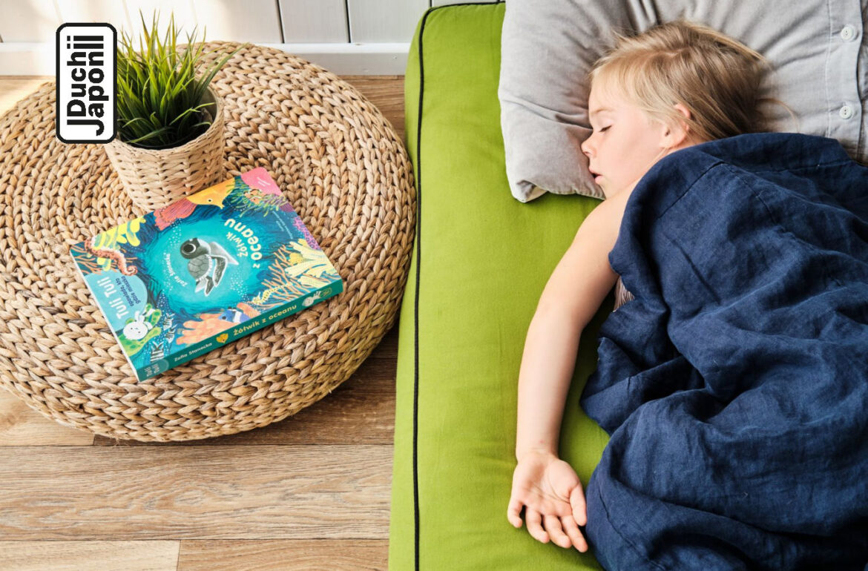 materac futon dla dzieci montessori
